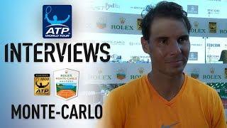 Nadal Previews Thiem Clash In Monte-Carlo 2018