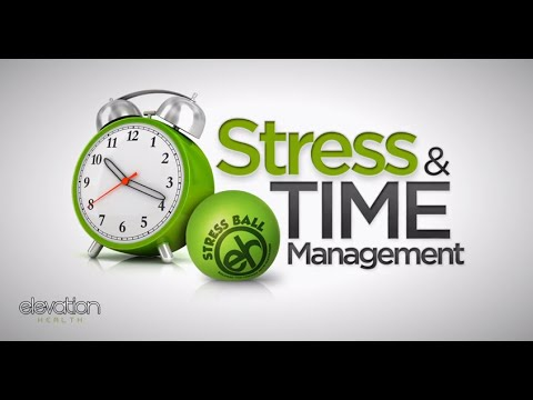 time management can be stressful Manage your time better poor time management can cause a you can adapt to stressful situations and.