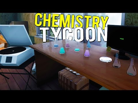 BUILDING THE LARGEST BLACK MARKET CHEMISTRY TYCOON BUSINESS! - The Chemist Free Demo Gameplay
