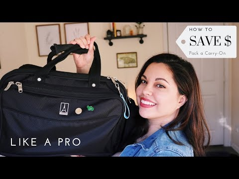 How to Pack a Carry On (Tips from a former flight attendant)