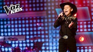 Ronald Macías canta Cielito Lindo - Audiciones a ciegas | La Voz Kids Colombia 2018