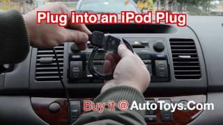 IPOD Plug male to FEMALE plug to 3.5 headphone jack AUX  converter cable