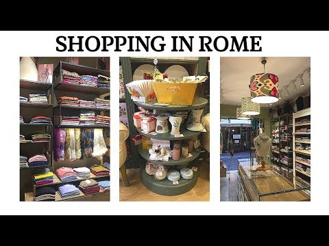 SHOP WITH ME IN ROME | EXPERIENCE ROME
