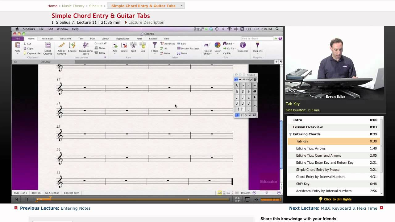 Sibelius simple chord entry guitar tabs youtube hexwebz Images