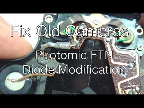 Fix Old Cameras: Nikon Photomic FTN Meter Modification