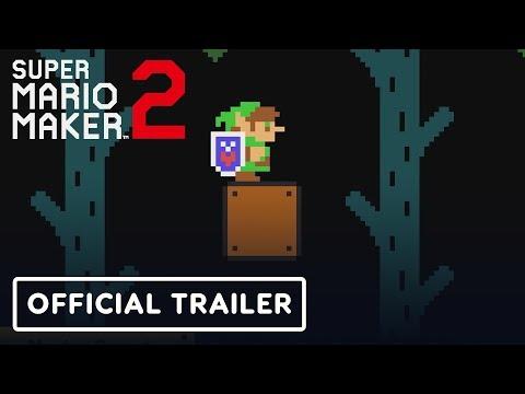 Super Mario Maker 2 - Master Sword Update Trailer