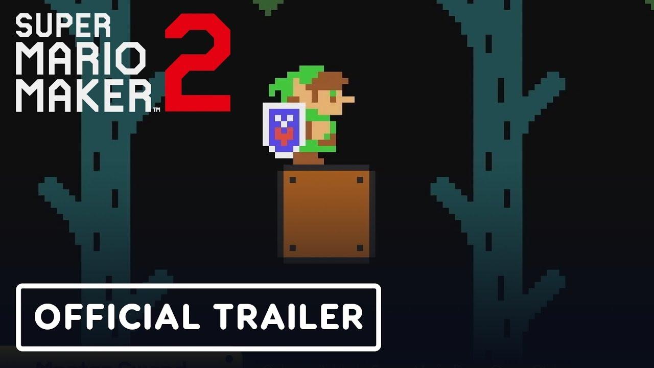 Super Mario Maker 2 - Tráiler de actualización de Master Sword + vídeo