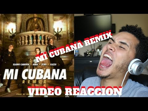 Mi Cubana Remix - Eladio Carrion X Khea X Cazzu X Ecko | Reaccion