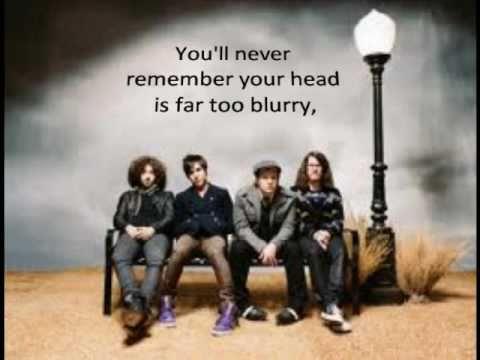 Disloyal Order of Water Buffaloes - Fall Out Boy (Lyrics)