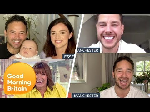 The Thomas Brothers On Their Indian Adventure And Baby Roman's Live Accident | Good Morning Britain
