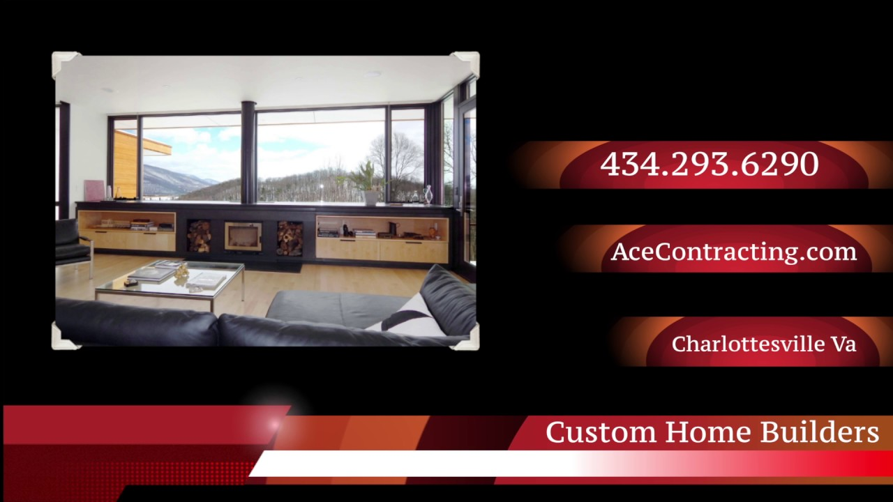 Best custom home builders charlottesville va for Custom home builders charlottesville va