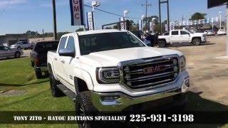 2016 Lifted GMC Sierra - Black Bayou 6.0 - Baton Rouge Area, Louisiana