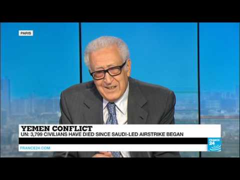 Former UN Envoy Lakhdar Brahimi on Yemen Conflict and Syrian War