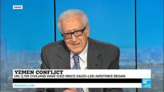 Former UN Envoy Lakhdar Brahimi on Yemen Conflict and Syrian War