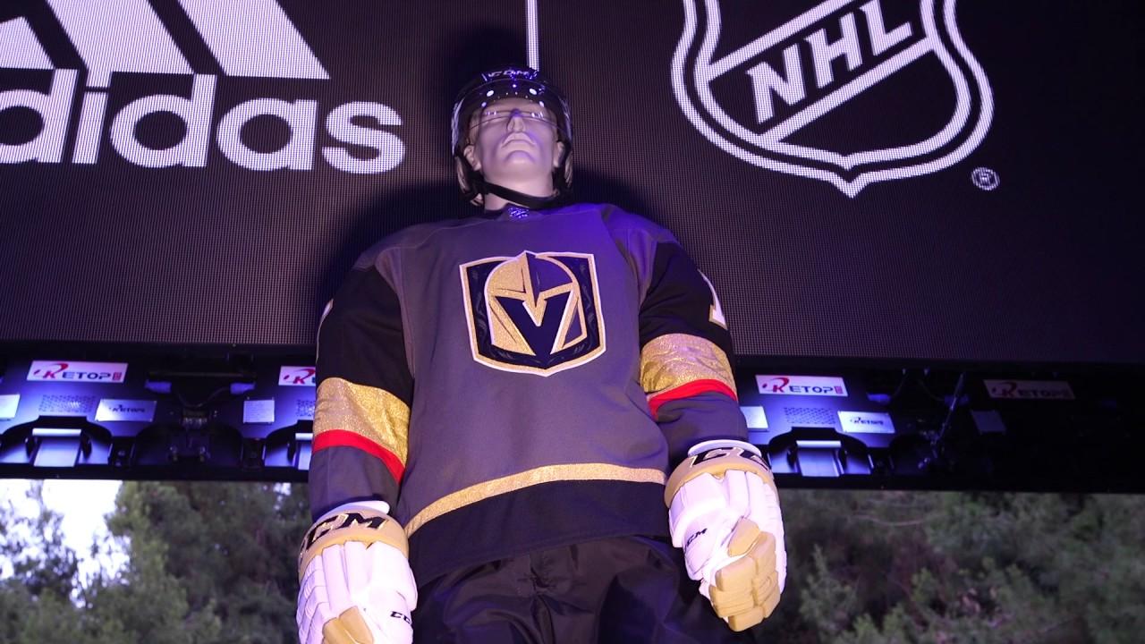 sale retailer da048 befe5 A first look at the Vegas Golden Knights jersey