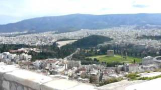 The Acropolis, Athens, Greece ~ 1896 Olympic Stadium & Temple of Zeus