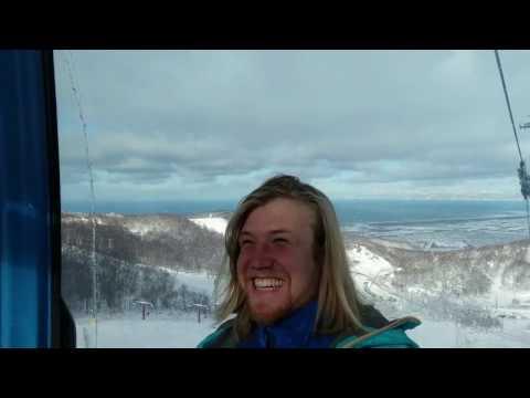 Christmas Powder Snowboarding, Karaoke and Transportation Chaos in Hokkaido Japan.