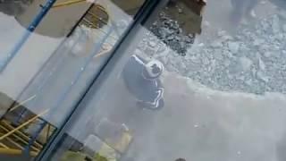 видео Устройство стеклянной кровли