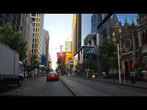 Cruising in the Perth CBD