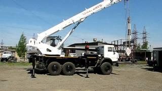 Автокран КС-45721 Челябинец 25 тонн