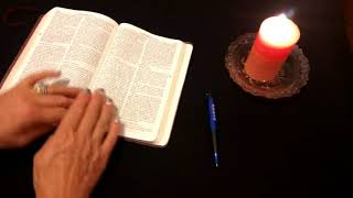 ASMR Request: 1 Corinthians 12 & 13 Reading/Bible Study - Soft Spoken || Whisper
