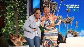 #TBT Tiffany Haddish Finally Meets Her Idol Oprah