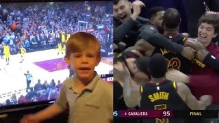 WATCH: Lebron James' Games Winning Shot PREDICTED By Toddler. Real or Fake?!