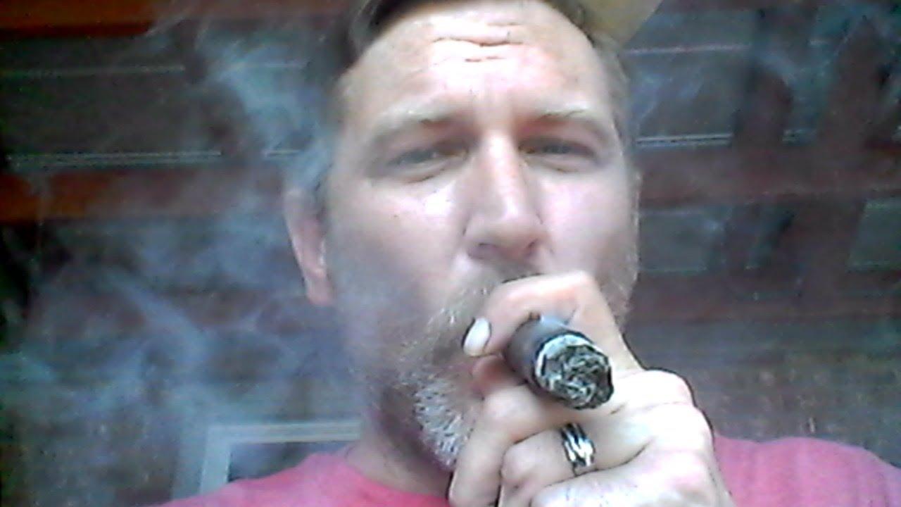 A Little Baseball While Smoking a Cigar take 2