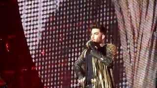 HD - Queen + Adam Lambert - In The Lap Of The Gods... Revisited (live) @ Stadthalle Wien 2015