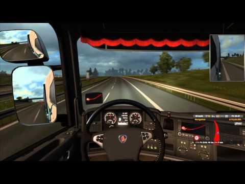 TruckersMP Timelapse | Szczecin - Łódź