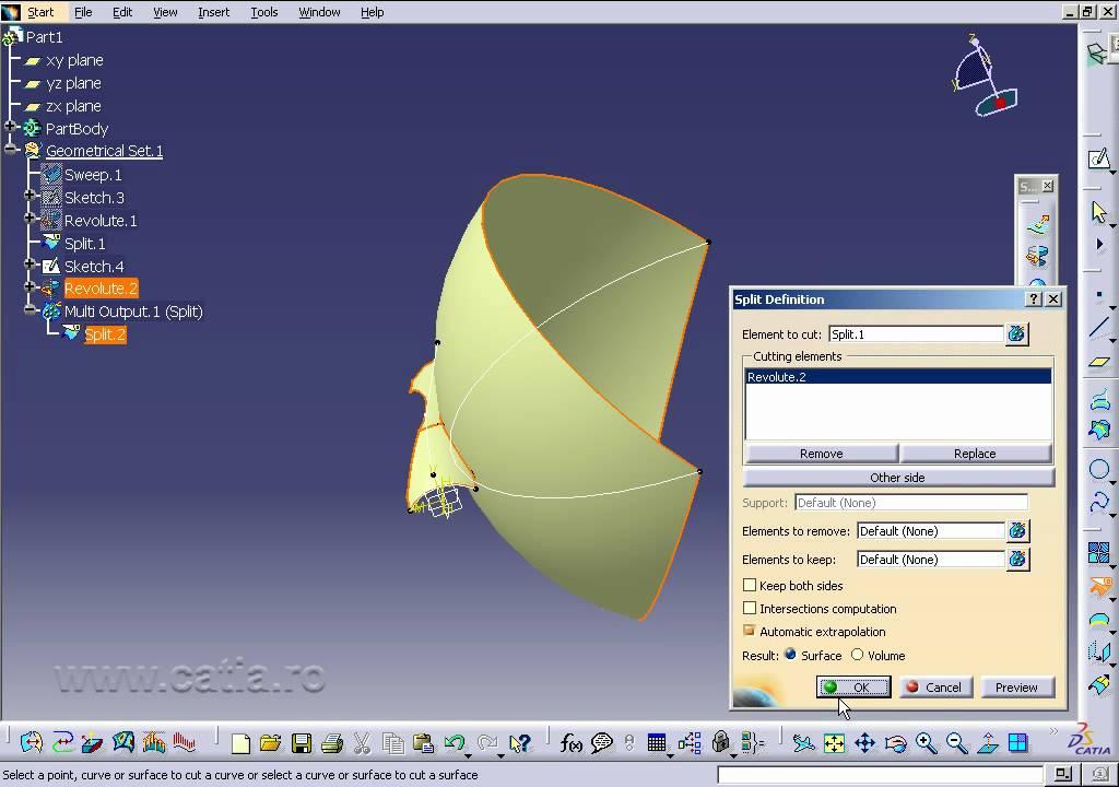 Catia V Surface Design Tutorial Pdf