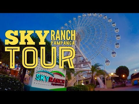 Sky Ranch Pampanga Amusement Park Tour Overview San Fernando by HourPhilippines.com