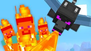 MINECRAFT MADNESS - BABY DRAGON BURNS EVERYONE!🔥