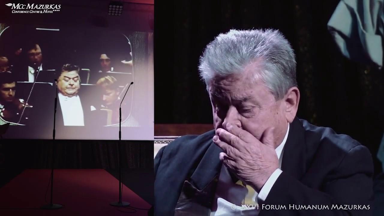 XXVI FHMazurkas- benefis Paulosa Raptisa -nagrania z archiwum Mistrza -wzruszające chwile...