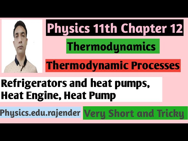 Video 2||Physics 11th Chapter ||Chapter 12||Thermodynamics ||