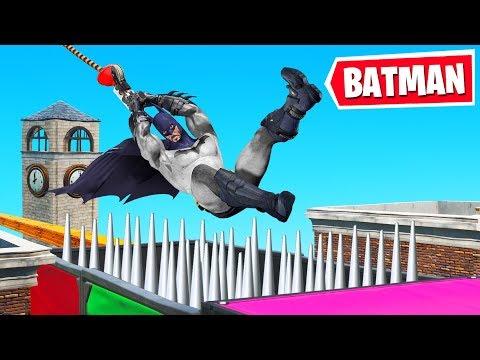 BATMAN Vs 50 LEVEL DEATHRUN! (Fortnite Creative)