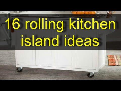 16 Rolling kitchen islad ideas