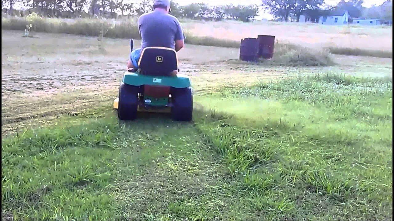 For Sale John Deere Lt155 Lawn Tractor Youtube