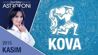 KOVA burcu aylık yorumu  Kasım 2015