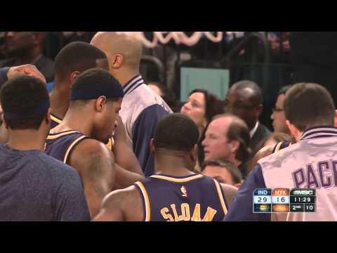 Paul George Second Game VS New York Knicks Highlight