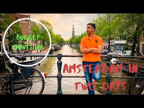 Pakistani traveller in Amsterdam