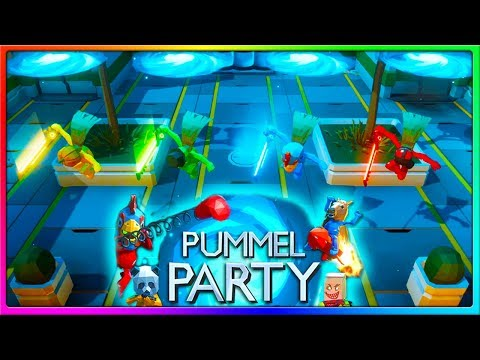 MY FRIENDS HATE ME | Pummel Party Gameplay With The Crew