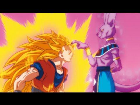 SSJ3 Goku vs Bills! DB...