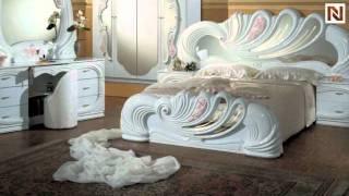 Vanity White - Italian Classic Bedroom Set Vgaccvanity-wht