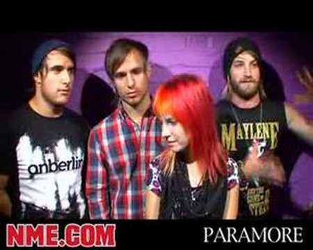 NME Video: Paramore Interview - YouTube Paramore Youtube