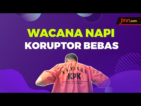 TEGAS! Jokowi: Napi Koruptor Tidak Akan Bebas Karena Corona!