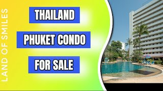 The Great condo I stayed in Phuket with private Jacuzzi is For Sale Now.