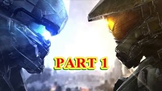 Halo 5: Guardians 4 Player Co-op Campaign Walkthrough Part 1 [1080P 60FPS]