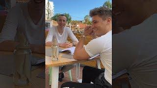 Diese Streamer belästigen Unge auf der Insel - Vlog 20 | #hochformat