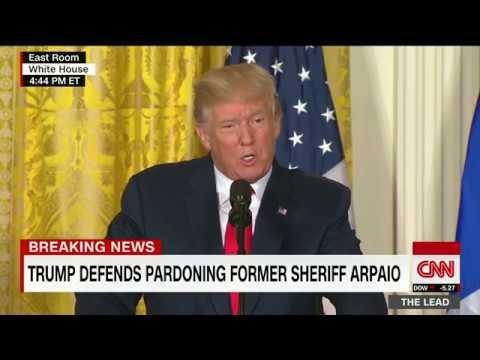 Trump: I stand by my pardon of Joe Arpaio